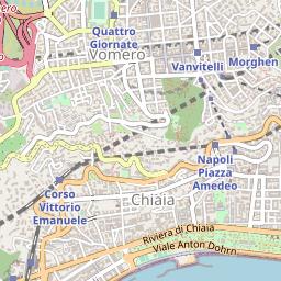 Cartina Vomero Napoli.Mappa Di Napoli Lombardo Geosystems