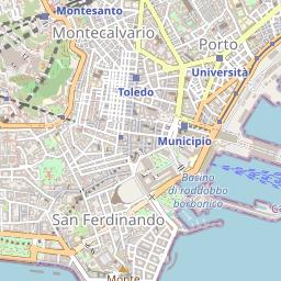 La Cartina Di Napoli.Mappa Di Napoli Lombardo Geosystems