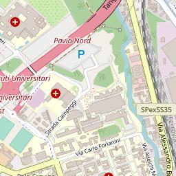 Cartina Lombardia Pavia.Mappa Di Pavia Lombardo Geosystems